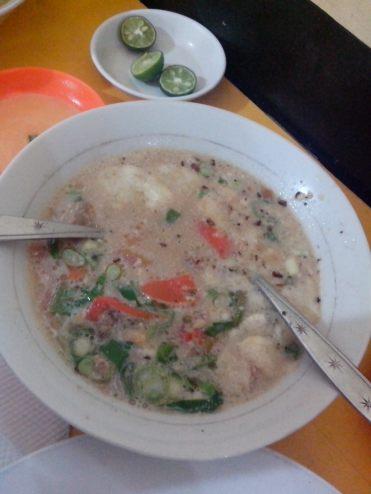 Soto Daging Kuah Susu
