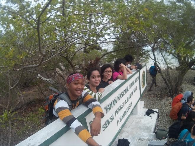 Wefie di Plang Pulau Handeleum
